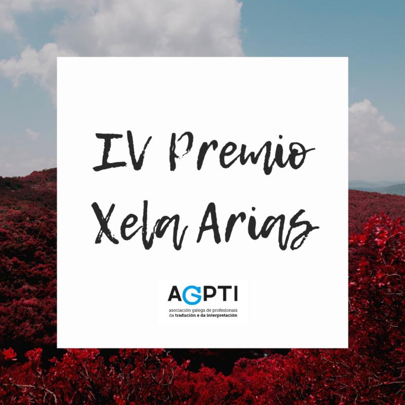 IV Premio Xela Arias
