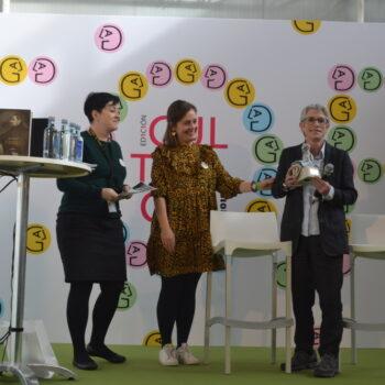 Discurso de María Alonso Seisdedos no I Premio Xela Arias e vídeos da Culturgal